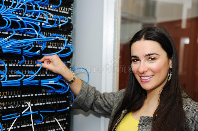 Download Female administrator stock image. Image of businesswoman - 23006587