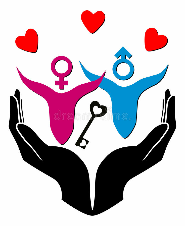 Free Female And Male Symbol Stock Photos - 23845343