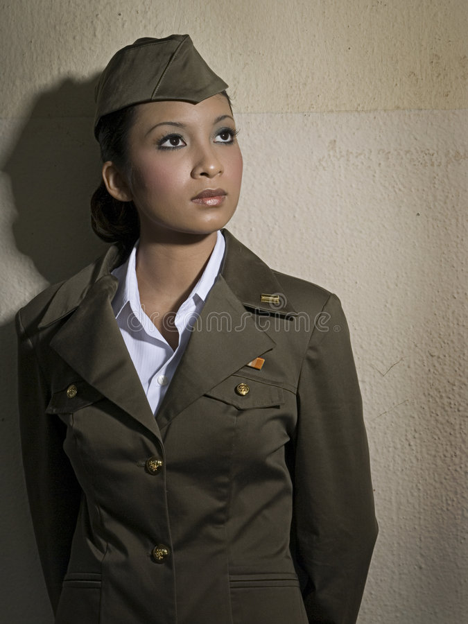 Female Army Personnel Stock Photos