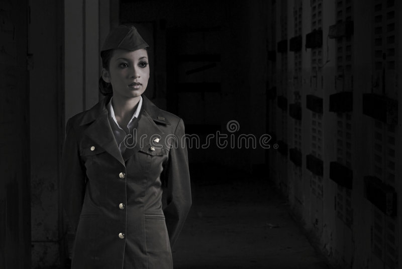 Download Female Army Personnel Stock Photos - Image: 2406203