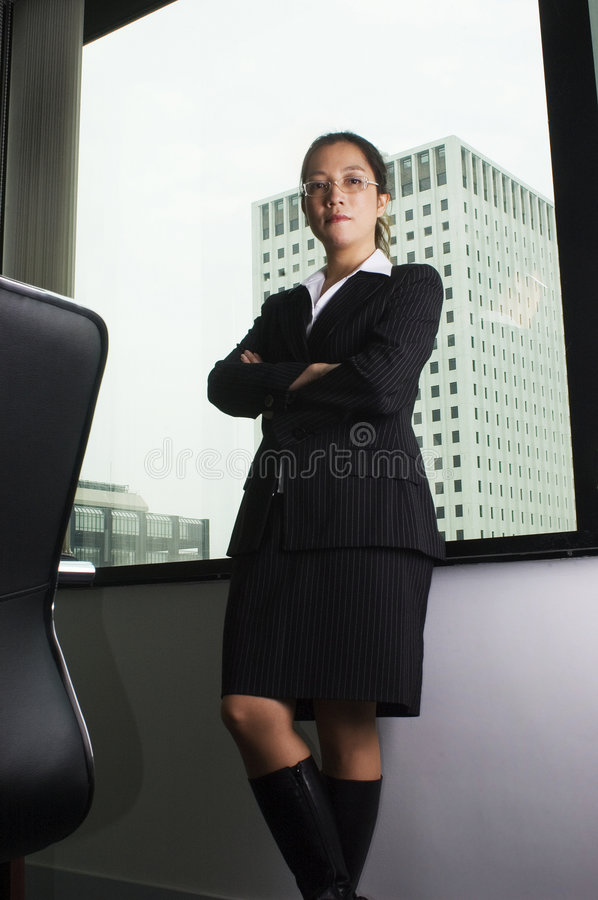 Download Female Asian Executive Business Stock Photo - Image: 1390222