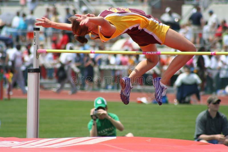 Female athlete stock images