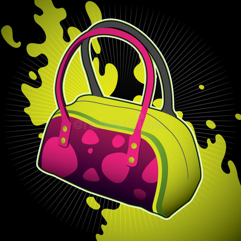 Download Female Bag. Royalty Free Stock Photos - Image: 18287978