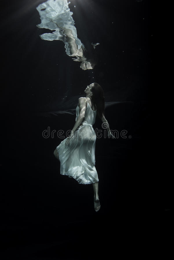 ballerina underwater stock photos