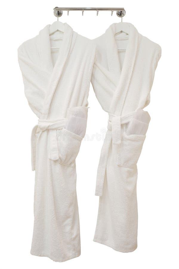Female bathrobes royalty free stock photos