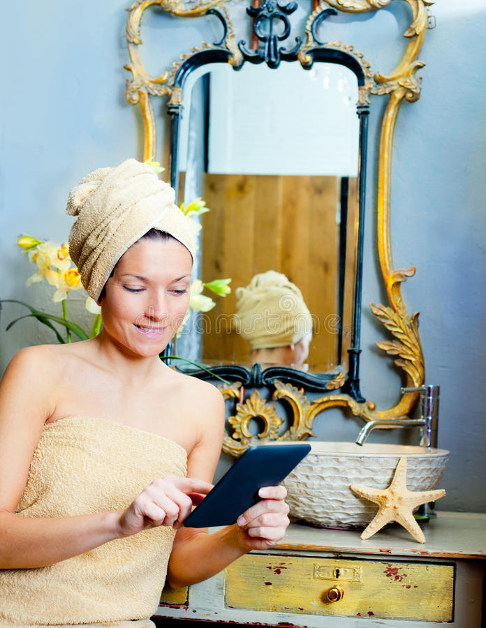 Woman Reading Toilet Stock Images - Download 52 Royalty ...
