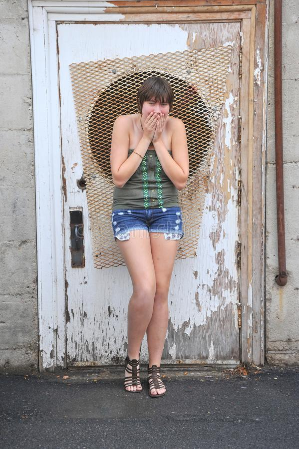 Female beauty fashion model. stock photography