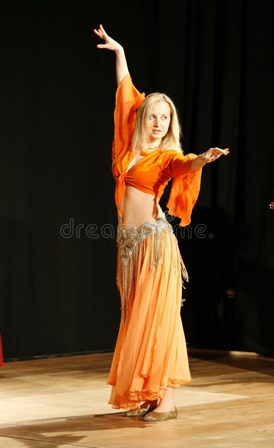 Download Female belly dancer stock photo. Image of posing, sensuous - 3825252