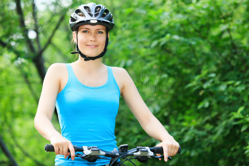 Download Female biker in stock image. Image of lifestyle, health - 25170777