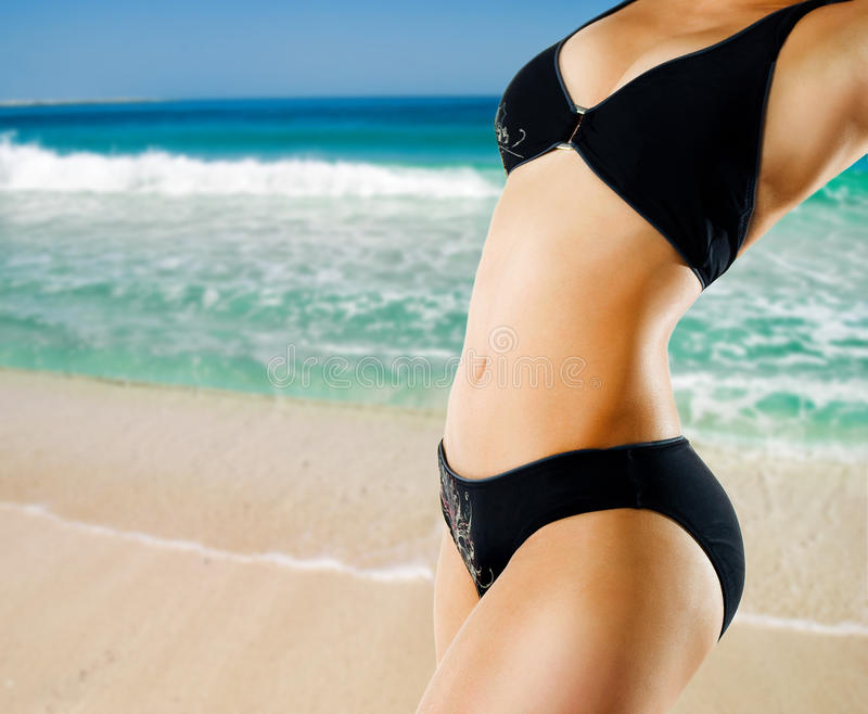 Download Female body stock photo. Image of beach, person, lotion - 23394388