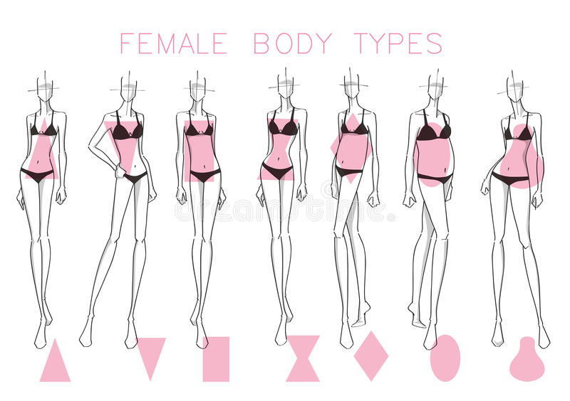 What is the perfect female body shape?