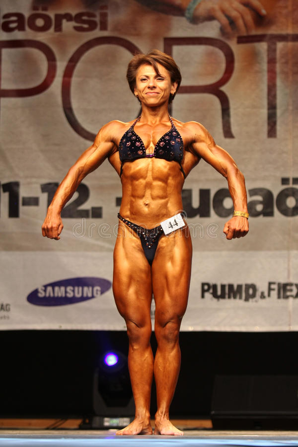 Free Female Bodybuiler Stock Photography - 20093032