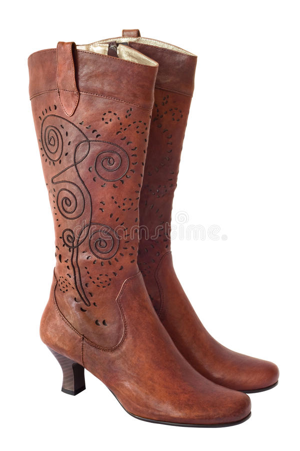 Free Female Boots Royalty Free Stock Photo - 17993905