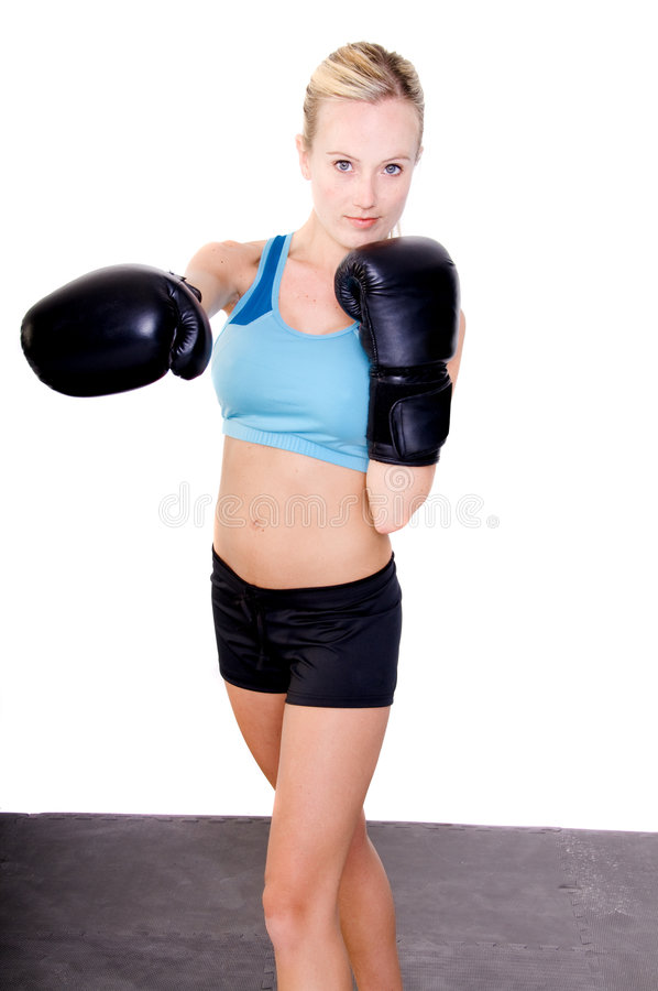Download Female Boxer stock image. Image of arms, adult, personal - 5117141