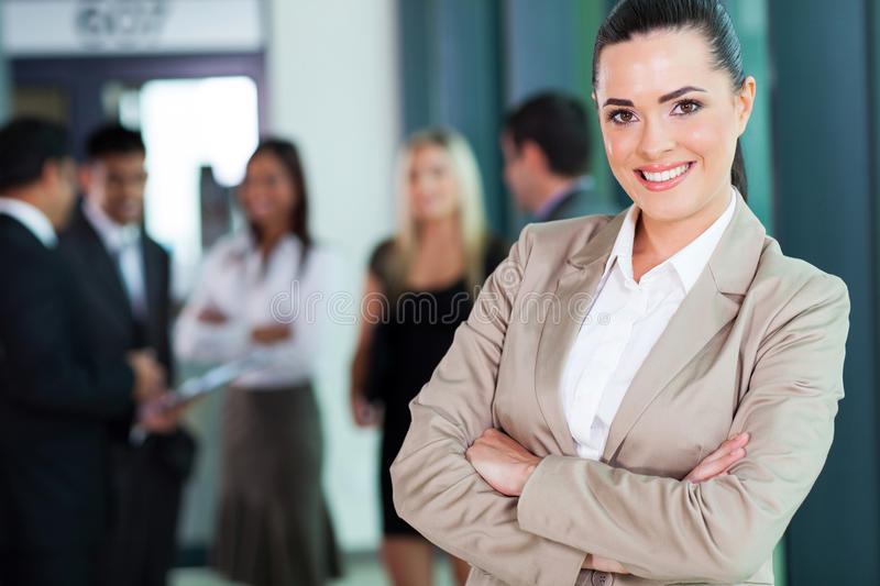 female business executive royalty free stock photography