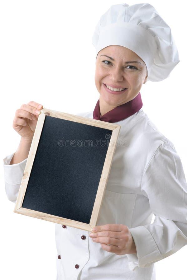 Download Female chef stock photo. Image of person, profession - 12368860