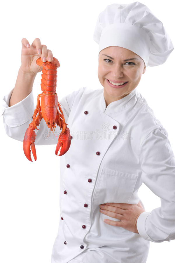 Download Female chef stock image. Image of occupation, eating - 12368867