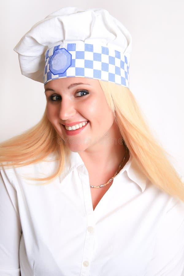 Download Female Chef stock image. Image of caucasian, copy, person - 23781399