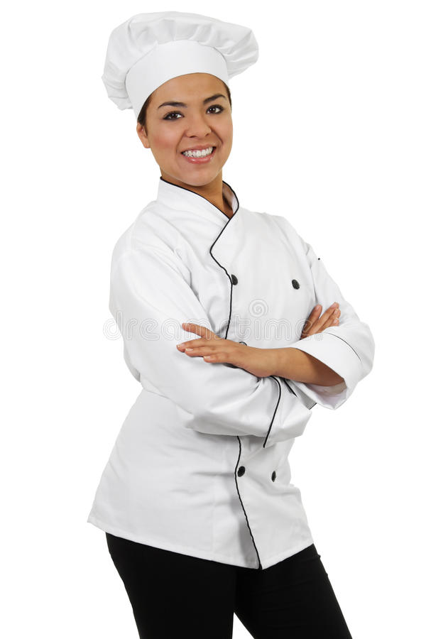 Download Female Chef stock image. Image of carefree, vertical - 26746783