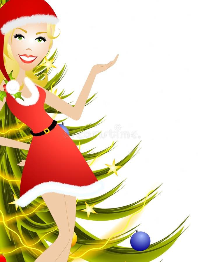 Female Christmas Presenter