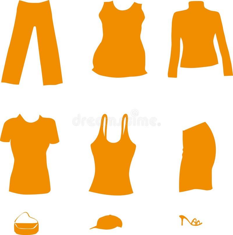 Download Female clothing stock illustration. Image of dress, desire - 26558180