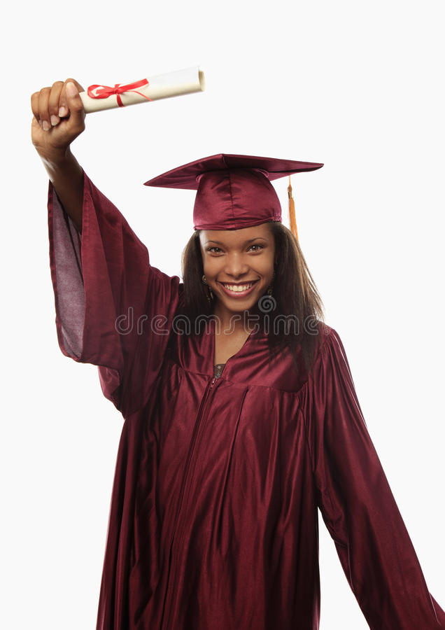 Free Female College Graduate In Cap And Gown Stock Photography - 14973112