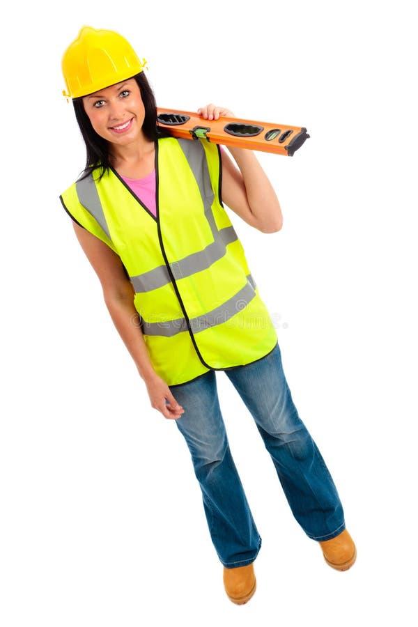 Female Construction royalty free stock photos