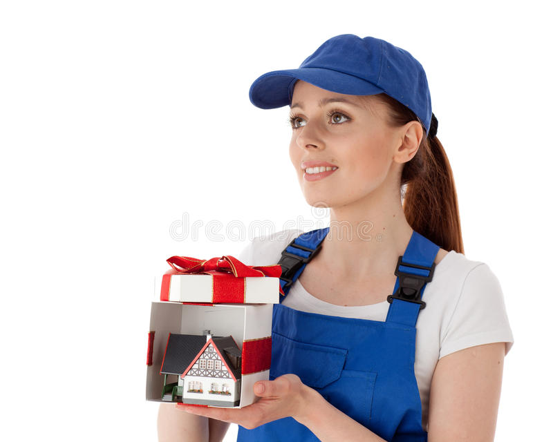 Download Female Construction Worker. Stock Image - Image: 20737401
