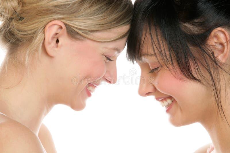 Download Female couple stock image. Image of eyes, female, faces - 12838689