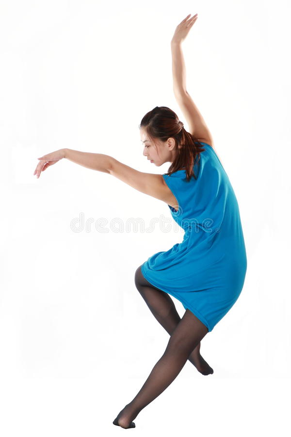 Female dancer stock photography