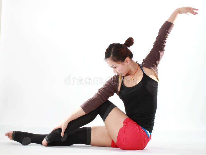 Female dancer royalty free stock photo