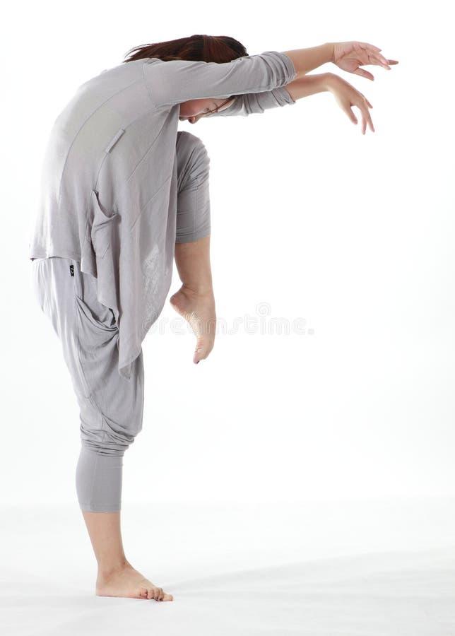Female dancer stock image