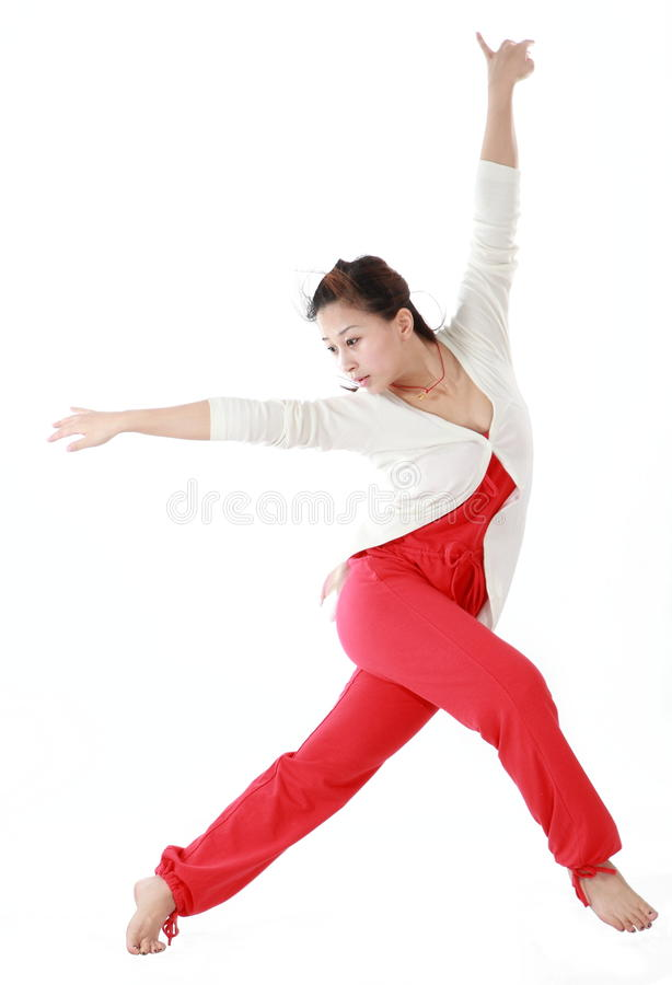 Female dancer royalty free stock photos