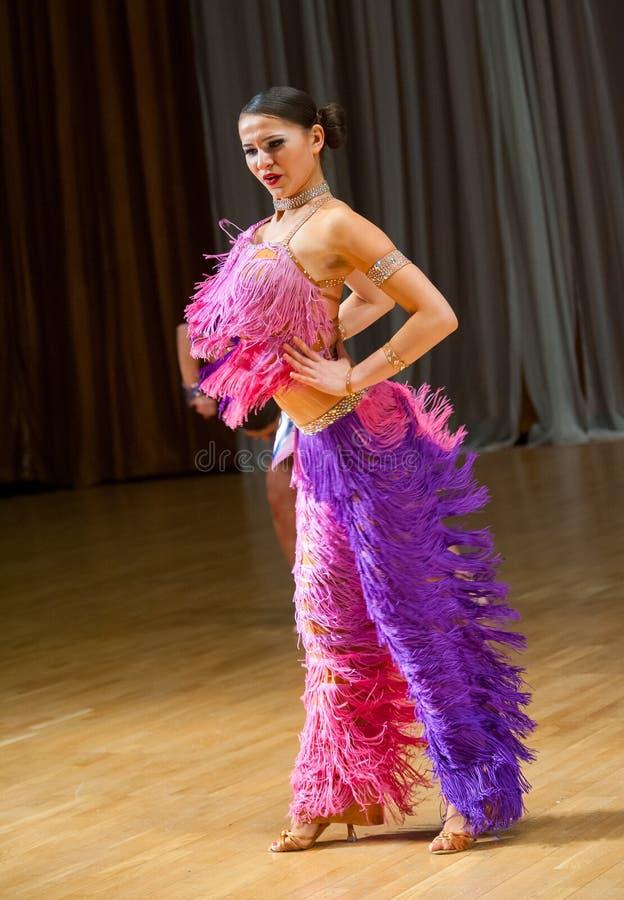 Download Female dancer performs stock image. Image of girl, merengue - 37643555