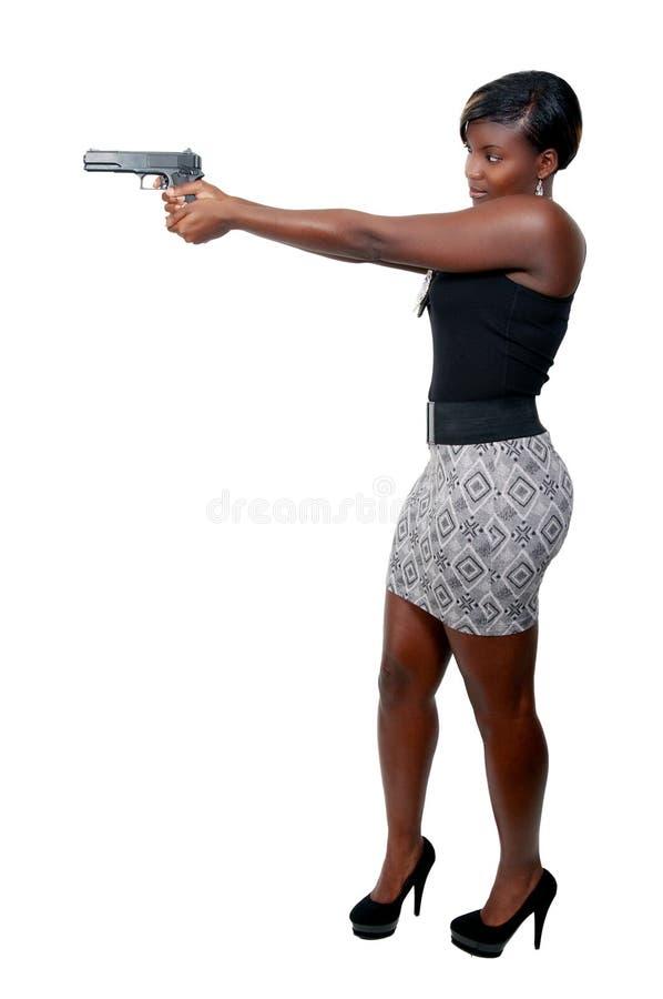 Female Detective stock photography