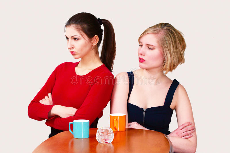 Download Female disagreement stock image. Image of copy, attractive - 21040135