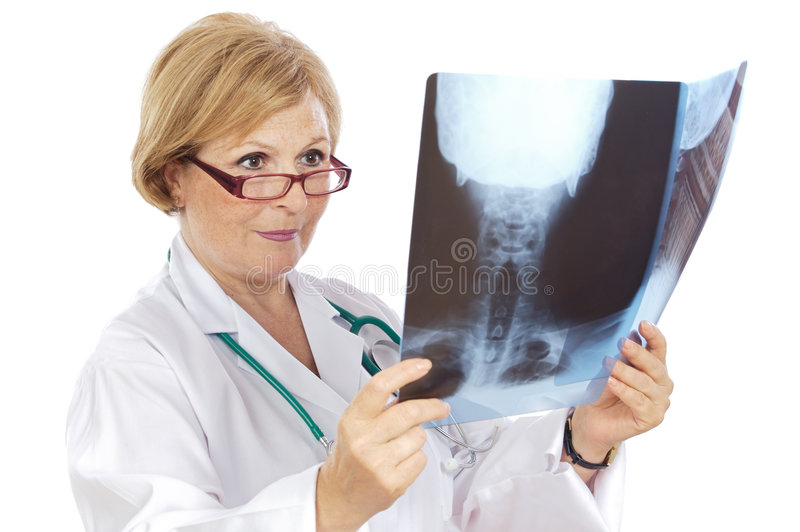 Download Female doctor radiologist stock image. Image of clinic - 3303747