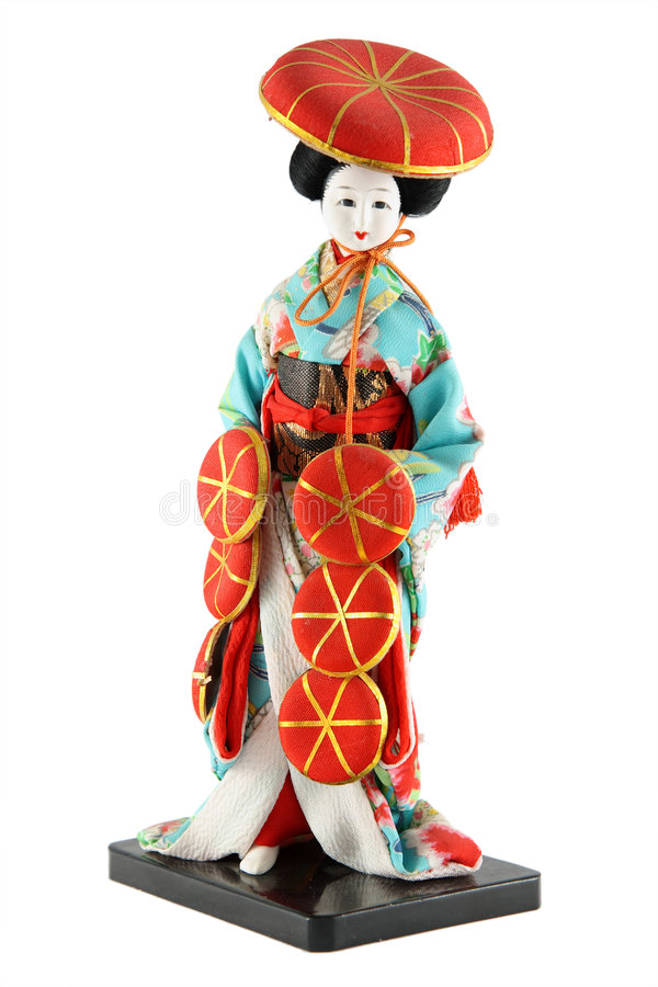 Female doll from Japan royalty free stock photography