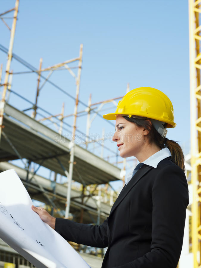 Download Female engineer stock photo. Image of people, construction - 11839576