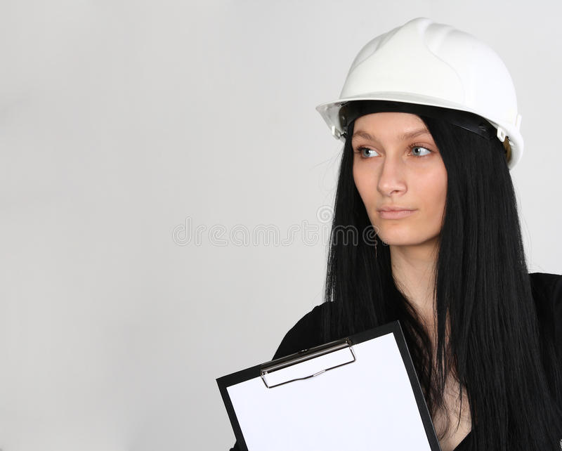 Download Female engineer stock photo. Image of notebook, person - 18690564