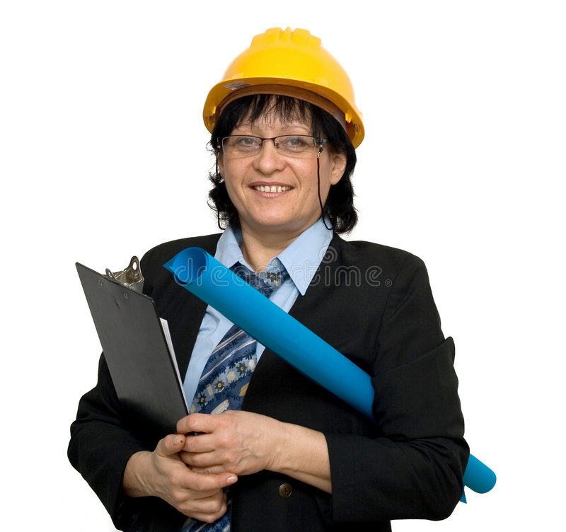 Download Female engineer stock image. Image of business, engineering - 4007907