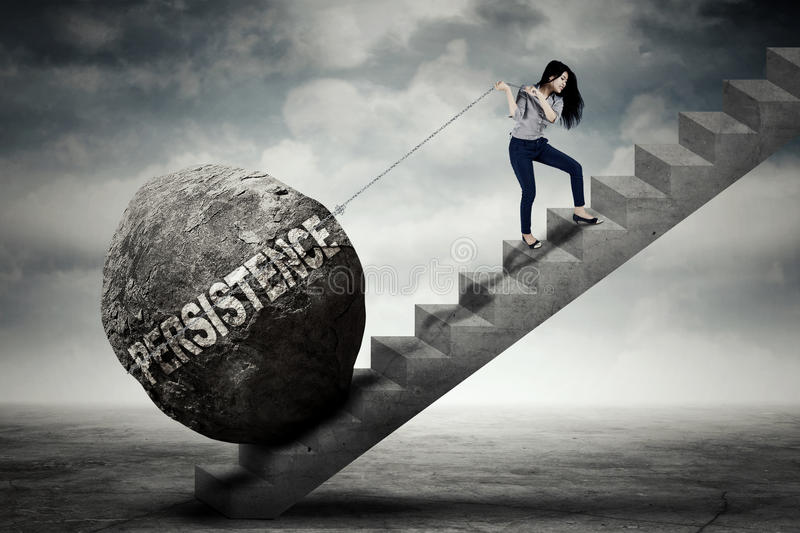 Persistence WORD GR stock image. Image of insistency ...  |Persistence Word