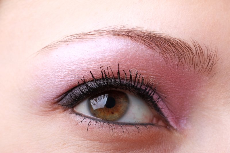Download Female Eye With Makeup Close Up Stock Image - Image of beauty, macro: 9058121