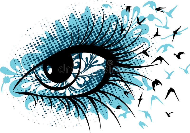 Download Female Eye,  Sign Royalty Free Stock Images - Image: 22138999