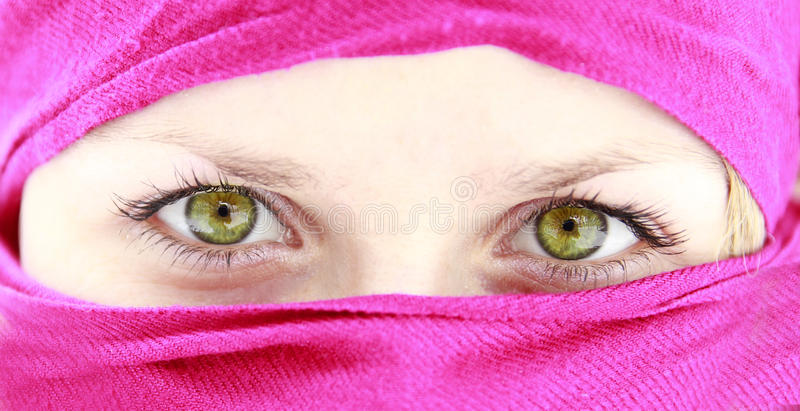 Download Female eyes stock image. Image of dark, portrait, person - 28445741