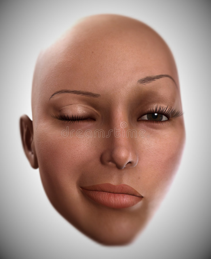 Download Female Face 3 stock photo. Image of face, head, beautiful - 2327656