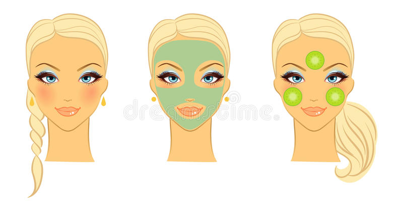 Download Female Face Front Royalty Free Stock Photo - Image: 23506715