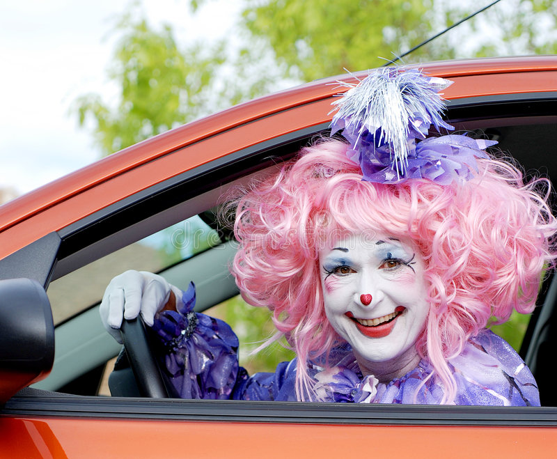 Download Female Fairy Clown Royalty Free Stock Images - Image: 1578469