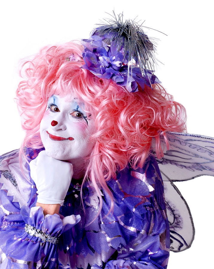 Download Female Fairy Clown Stock Photos - Image: 1578473