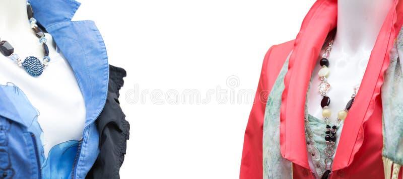 Female Fashion Dummies Stock Photography